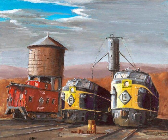 Railway picture Christopher Jenkins.