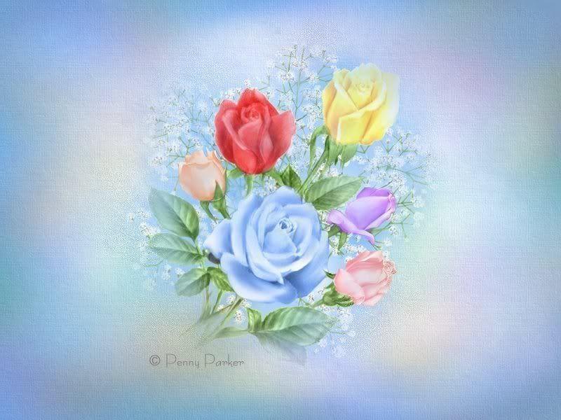 Открытка с цветами нарисованные, картинки смешные