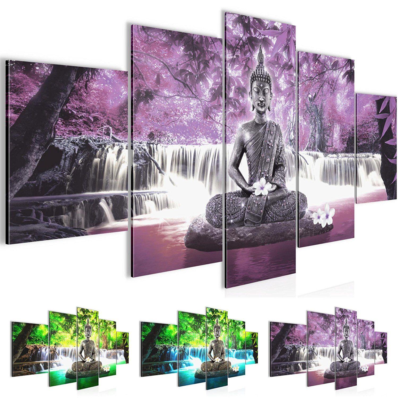 Amazon De Bilder 200 X 100 Cm Feng Shui Bild Vlies Leinwand Kunstdrucke Wandbild Xxl Format Kunstdruck Kunst Bilder Leinwand