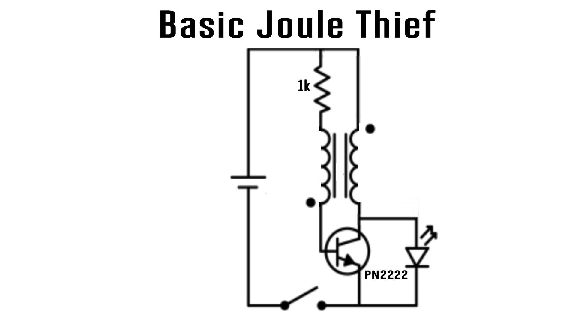 Joule Thief Battery Charger Bring Back The Dead