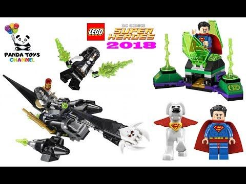 LEGO Superman & Krypto Team-Up Preview HD Pictures - LEGO DC ...