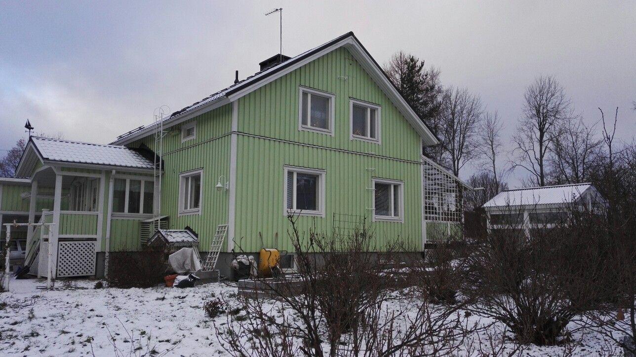 Talo joulukuussa 2016.