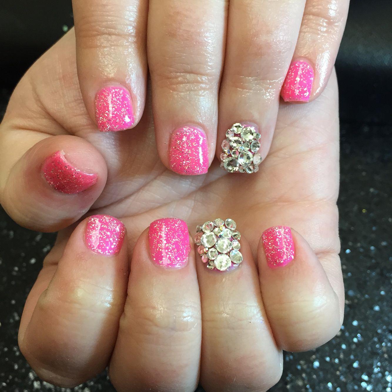 Barbie Nails Hellokaylaranaenails Hkrn Nailenthusiast Genuineswarovski Lasvegasnails Lvnails Dopenailso Cute Nails Las Vegas Nails Young Nails