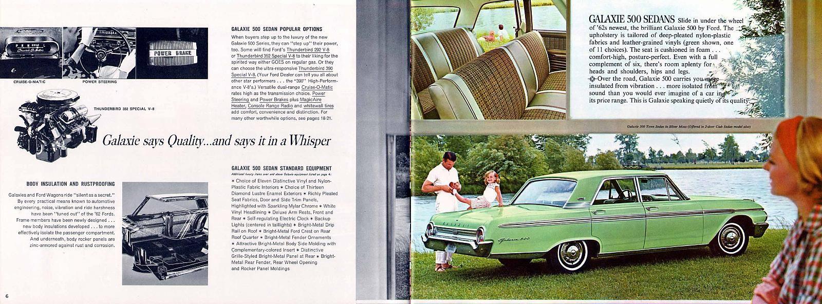 1956 ford customline wagon old car hunt -  62 Ford Galaxie Interior