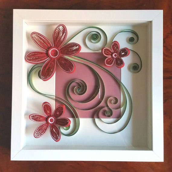 Quilling Art Quilled Paper Art Quilling Frame Paper By