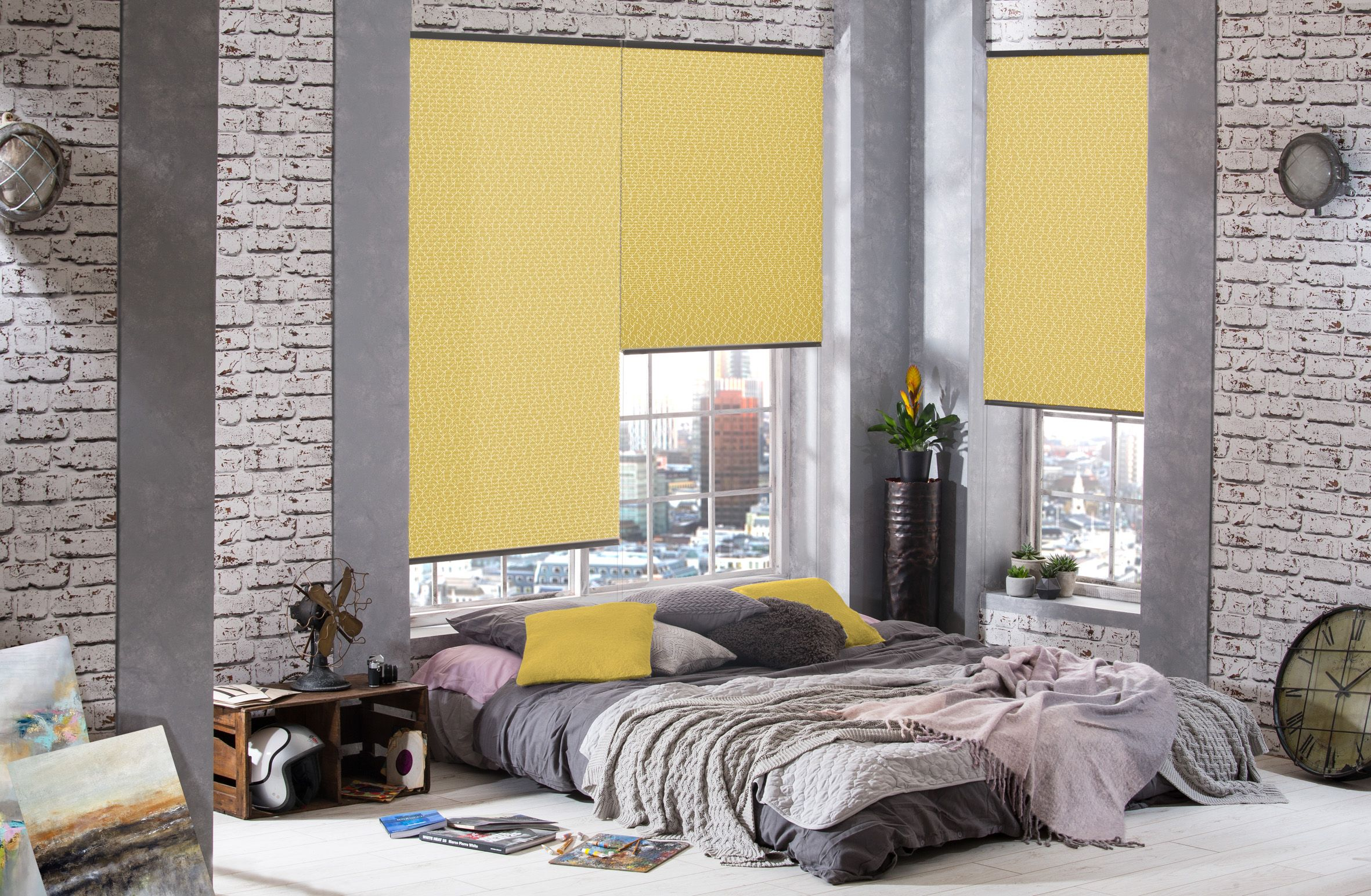 Hive Blinds From Style Studio Bedroom Blinds Yellow Blinds Cellular