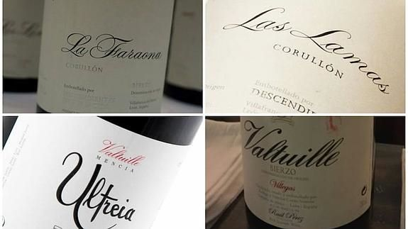 Los cuatro vinos mejor puntuados de la DO Bierzo en la prestigiosa lista de Robert Parker.