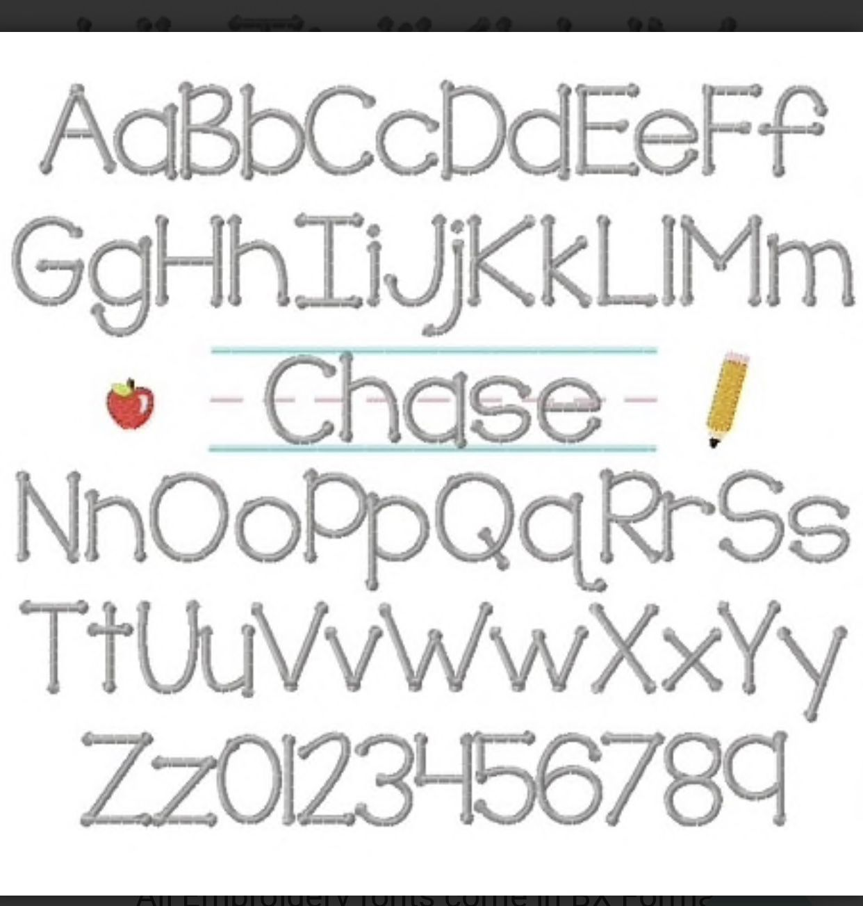 Download Pin by Misty Pack on Embroidery Fonts | Handwriting fonts ...
