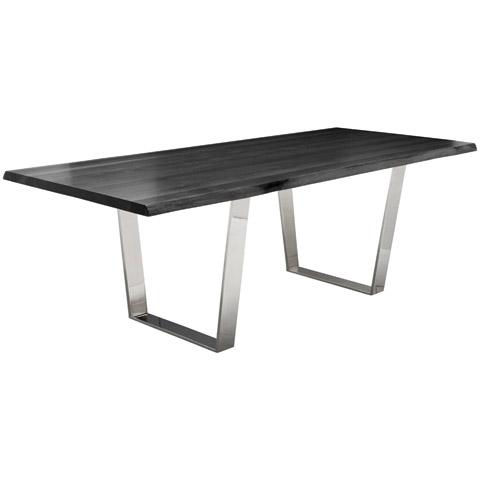 Versailles Dining Table Grey Oak 78in Modern Digs Furniture
