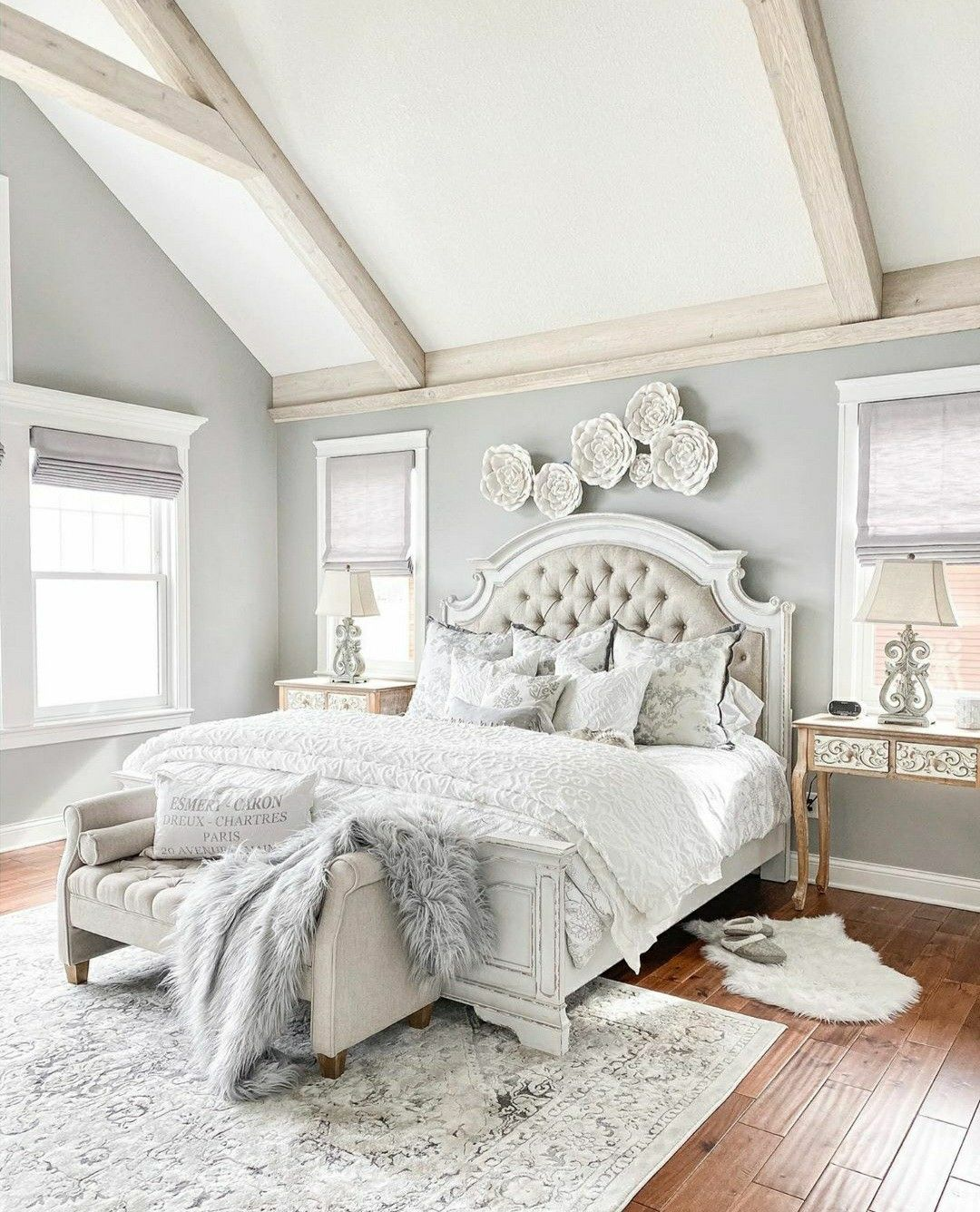 Pin by Sterling Roses Blog on Bedrooms in 2020 Glam