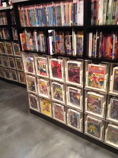 Comic Book Shelving Comic Book Storage Idea …  Pinteres…