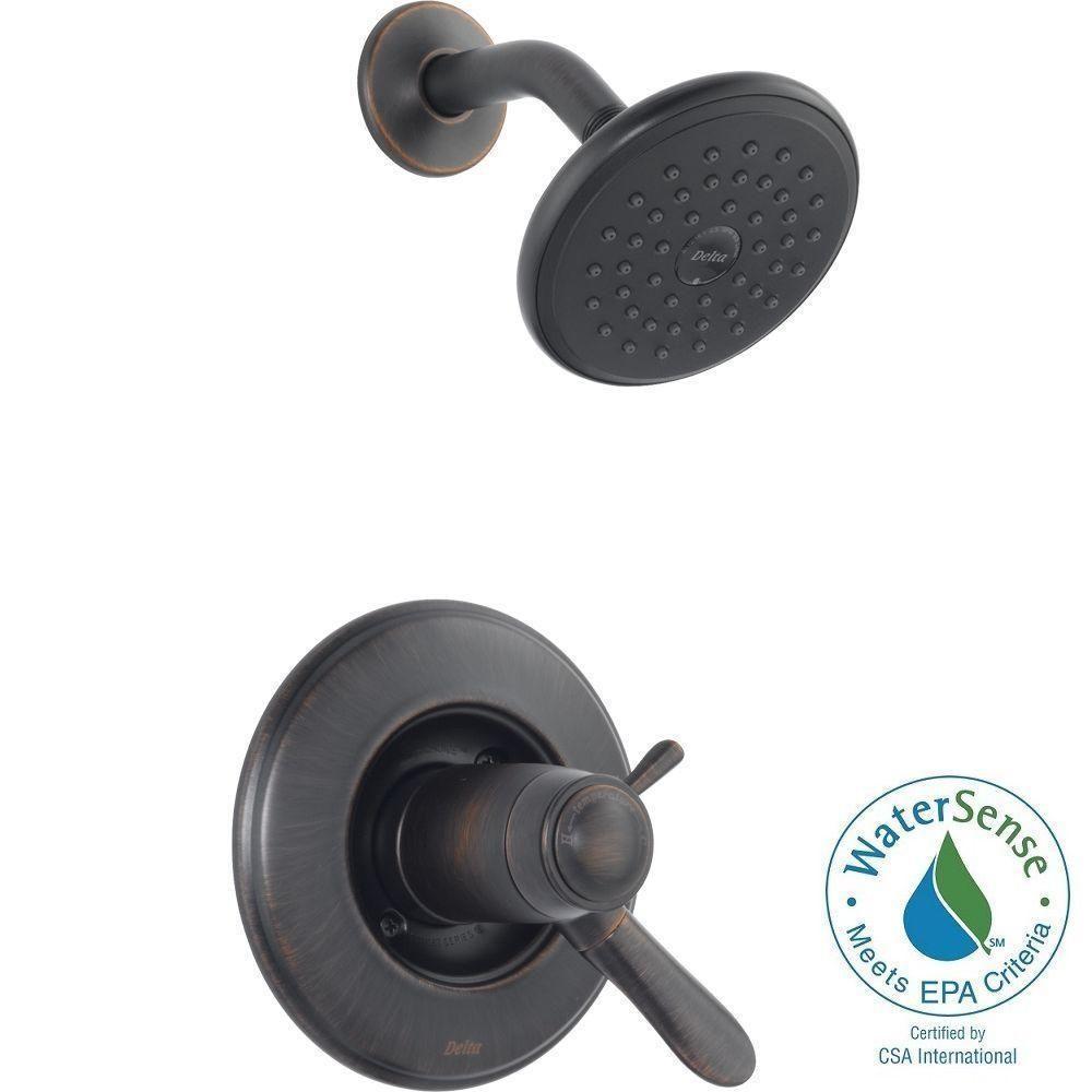 Delta Lahara TempAssure 17T Series 1-Handle Shower Faucet Trim Kit ...