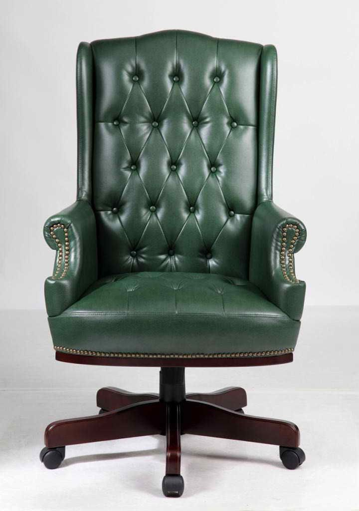 Chesterfield style office chair