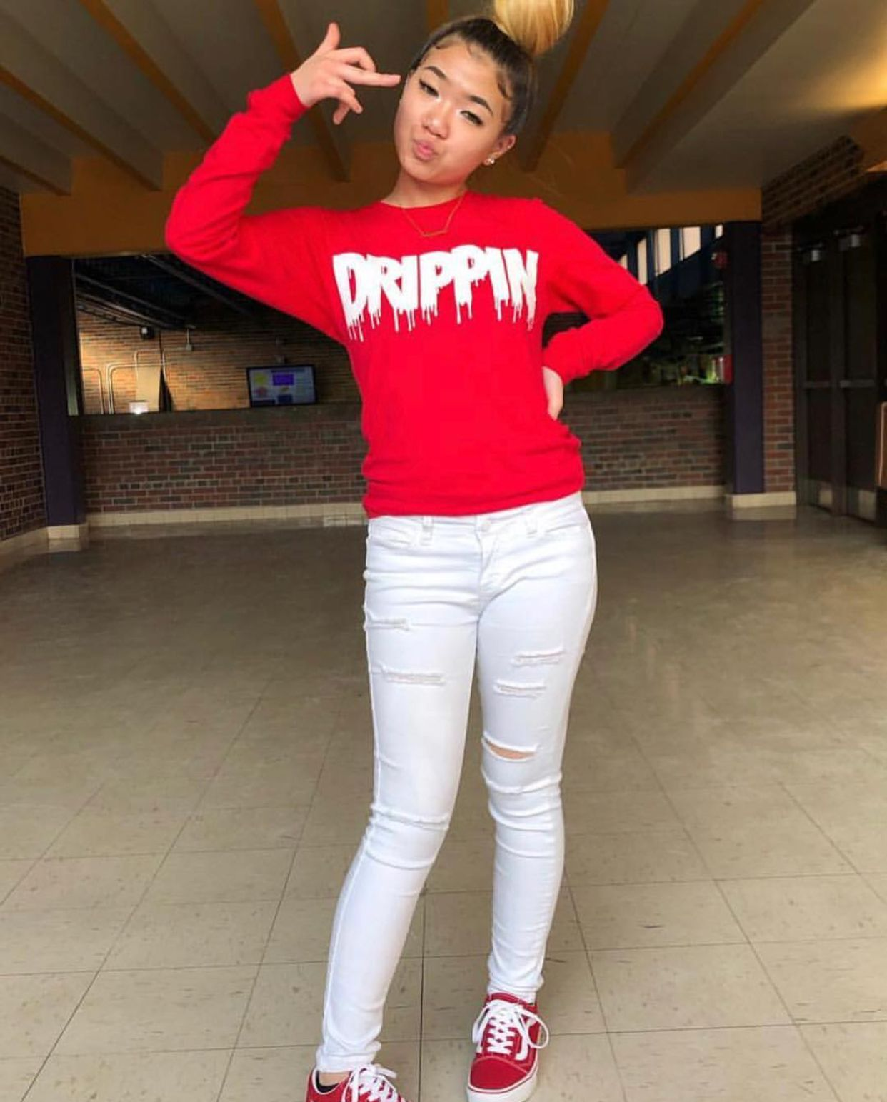 Cute outfits, Outfit goals, Red vans outfit