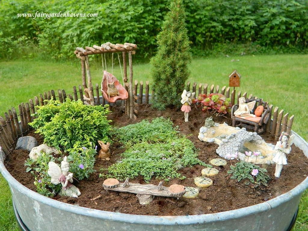 Pin De Jan Lilley Strother En Fairy Gnome Miniature Gardens  ~ Macetas Originales Para El Jardin