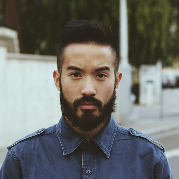 Half Chinese Half Cambodian Beard Time Asians With