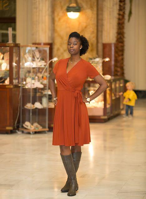 The Tell Tale Tasha: Autumn Wrap - Vogue 8379