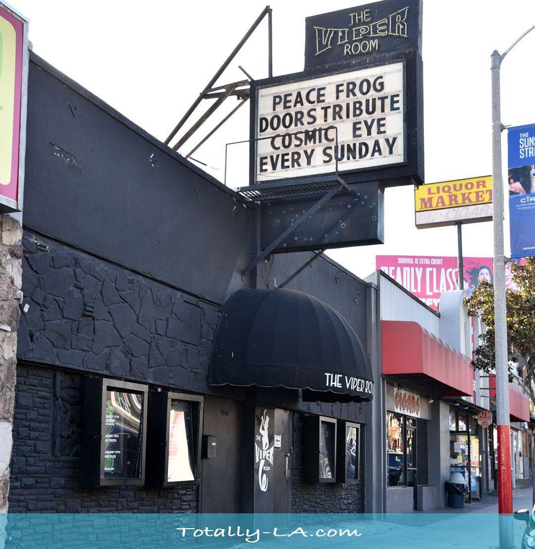 La Music Venues The Viper Room Totally La Music Venue Los Angeles Music Los Angeles Tourist Attractions