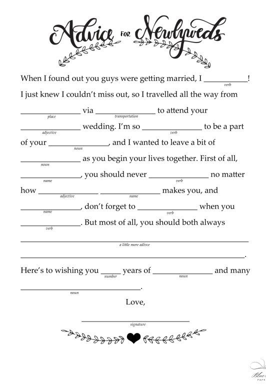 Crush image with regard to bridal shower mad libs printable