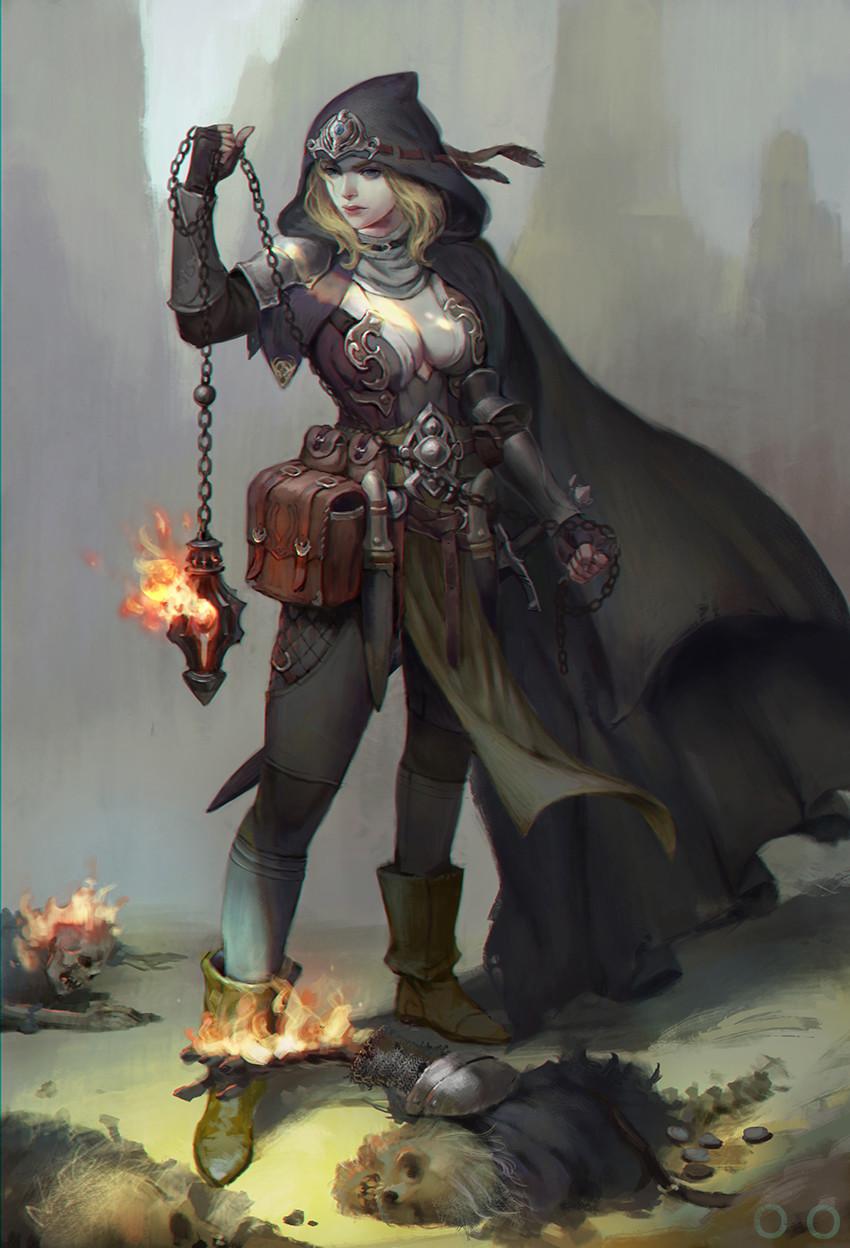 Adventure Fantasy Dark Hunter by ㅇㅇ Joo Fantasy