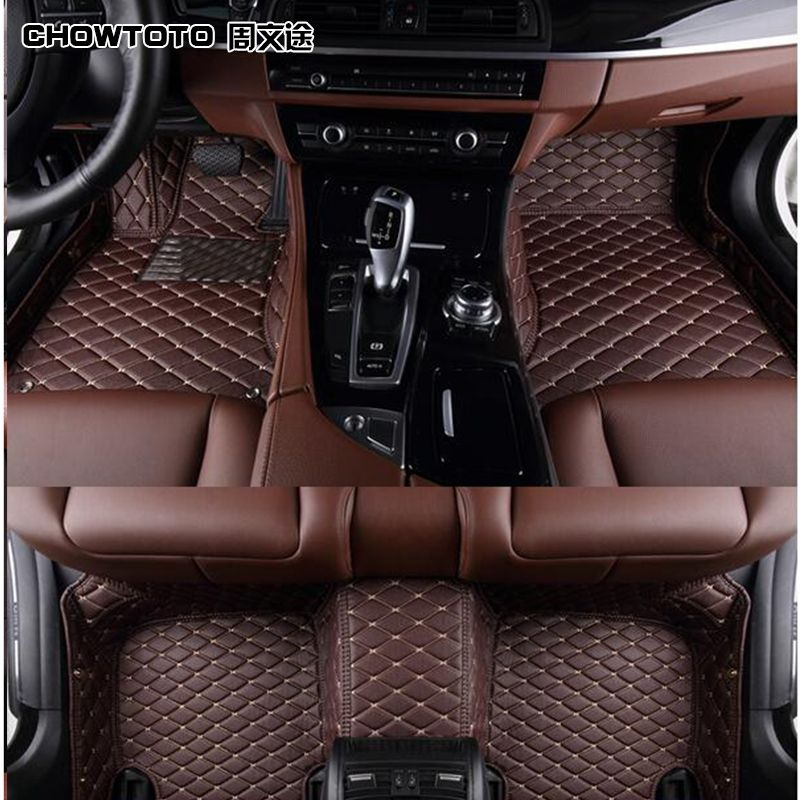 AA Custom Special Floor Mats For BMW 5 Series GT F07 Right Hand Drive Durable Waterproof Carpets