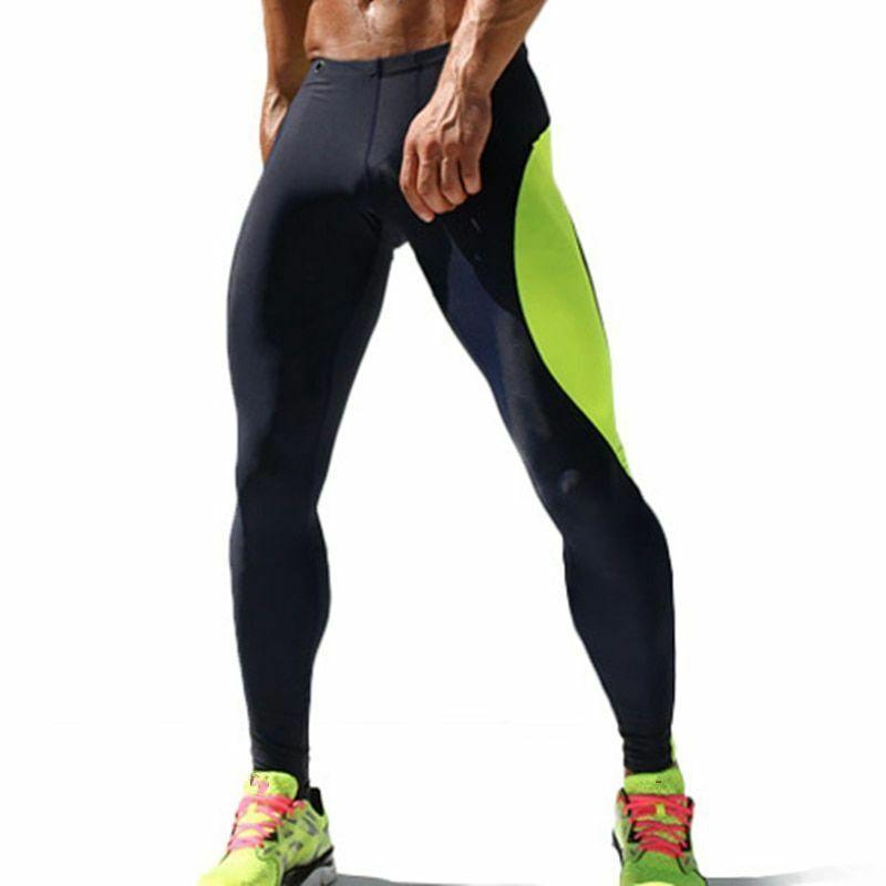 d7ef6c5efff46 Men Sport Pants Fitness Joggers Leggings Compression Training Crossfit Long  Gym #fashion #clothing #shoes #accessories #mensclothing #activewear (ebay  link)