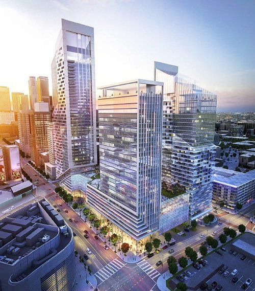 30Story W Hotel Coming to LALiveAdjacent Megaproject is part of architecture House Brick Design - LA Live's getting a new neighbor a W Hotel  Shenzhen Hazens, developer of a huge mixedused project that'll rise along Figueroa between Olympic and Eleventh Street in South Park, announced today