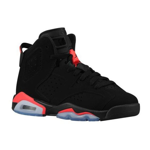 Jordan Retro 6 Boys' | Champs Sports ($130) ❤ liked on Polyvore featuring