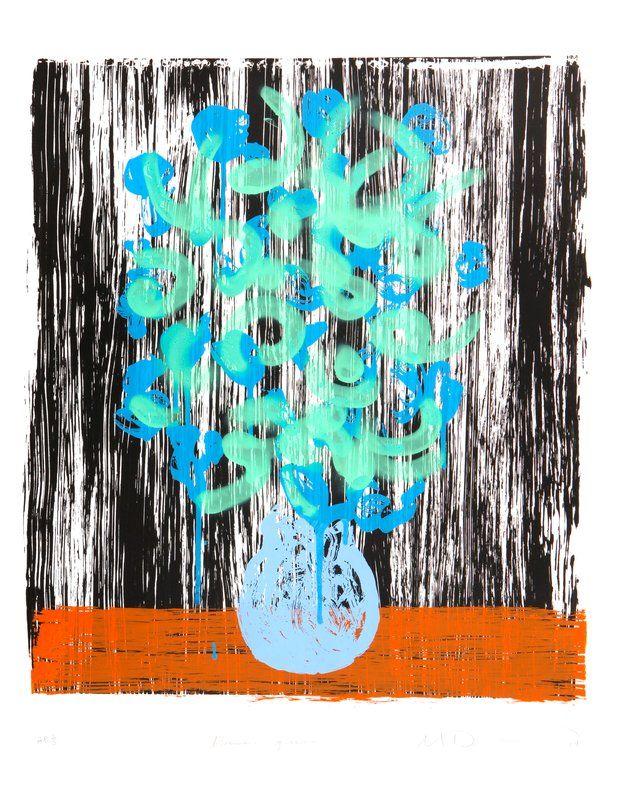 Michael De Feo, bloemen green