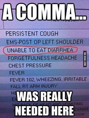23 Photos That Prove Commas Are VERY Important | Grammar humor ...