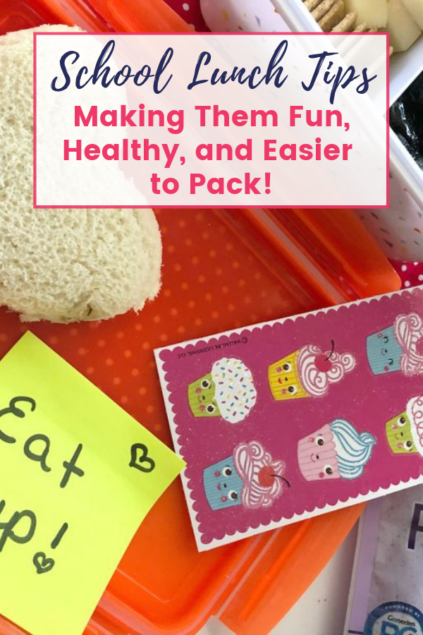 Tips for Making School Lunches Fun, Healthy, and Easier to Pack! images
