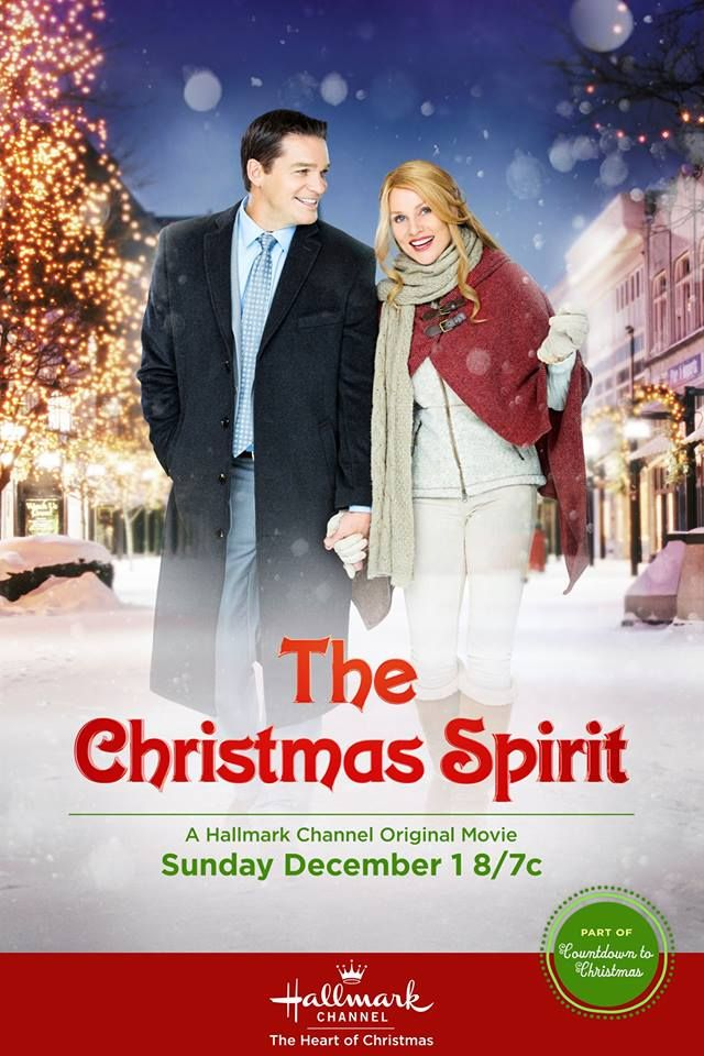 nicolette sheridan stars in the christmas spirit premiering tonight 87c part of our countdowntochristmas with holiday movies all day all night - Christmas Movies On Tonight