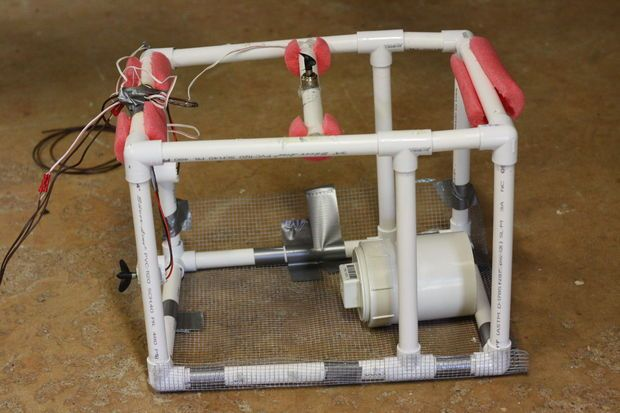 DIY Underwater ROV (Submarine)