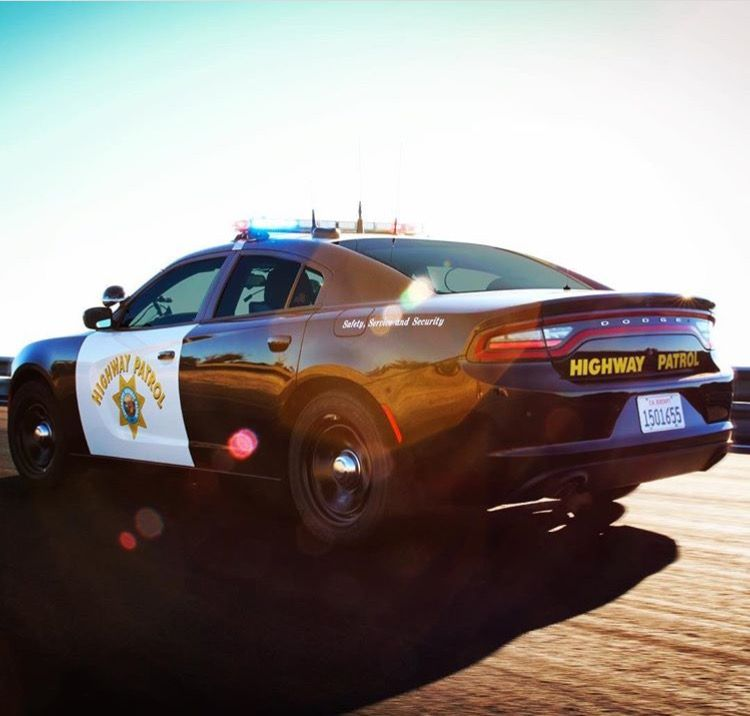 Dodge Charger CHP Rolling The Highways!