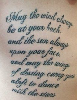 No Shit This Quote Is On My Tattoo Wish List Love It Tattoo Quotes Irish Quotes Tattoos Tattoos
