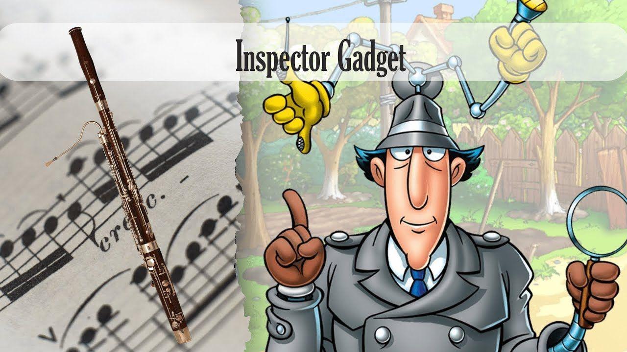 Partitura Inspector Gadget Fagot