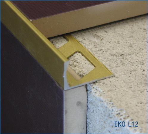 metal aluminium tile corner trim