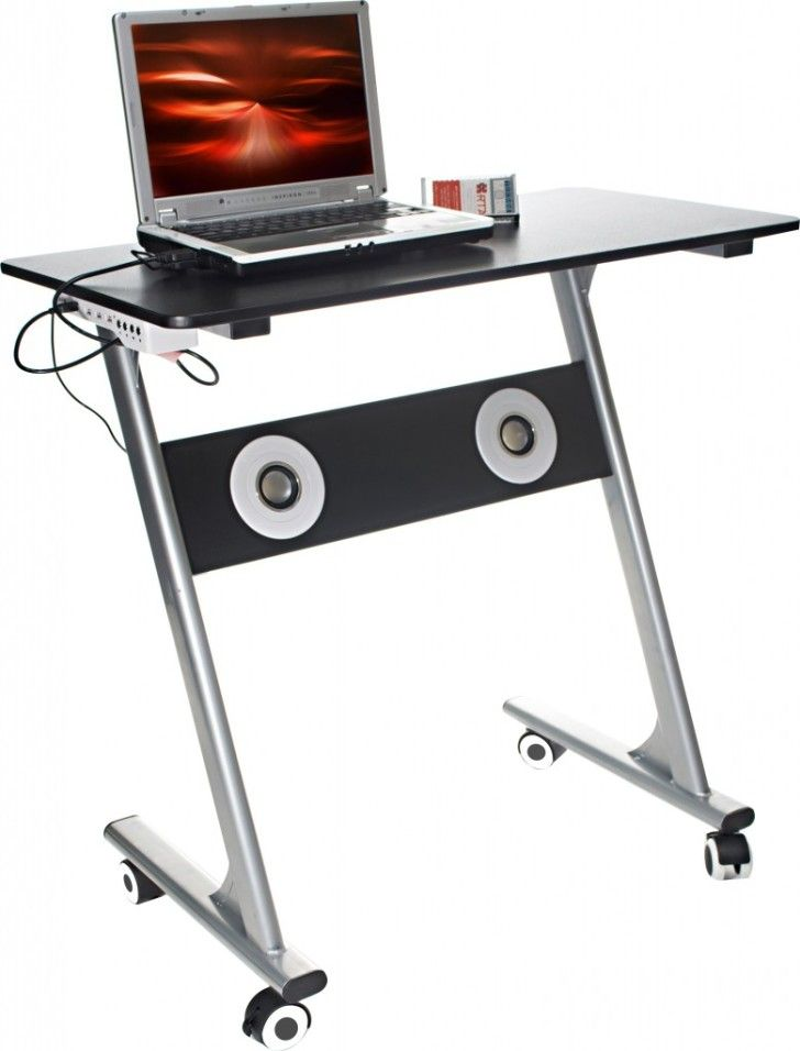 Amazing Laptop Desk Designs: Appealing Gaming Laptop Desk Designs Ideas By Rta Products Ergonomic With Stereo Feature Provides ~ zhujima.com Furniture Inspiration