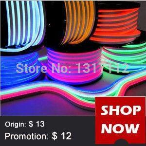 Gratis Bezorging 110 V Led Flex Neon Rood Blauw Led Neon Flexibele 80 Leds M Building Decoratie Led Neon Touw Led Zachte Buis Li Juventud Total Led R