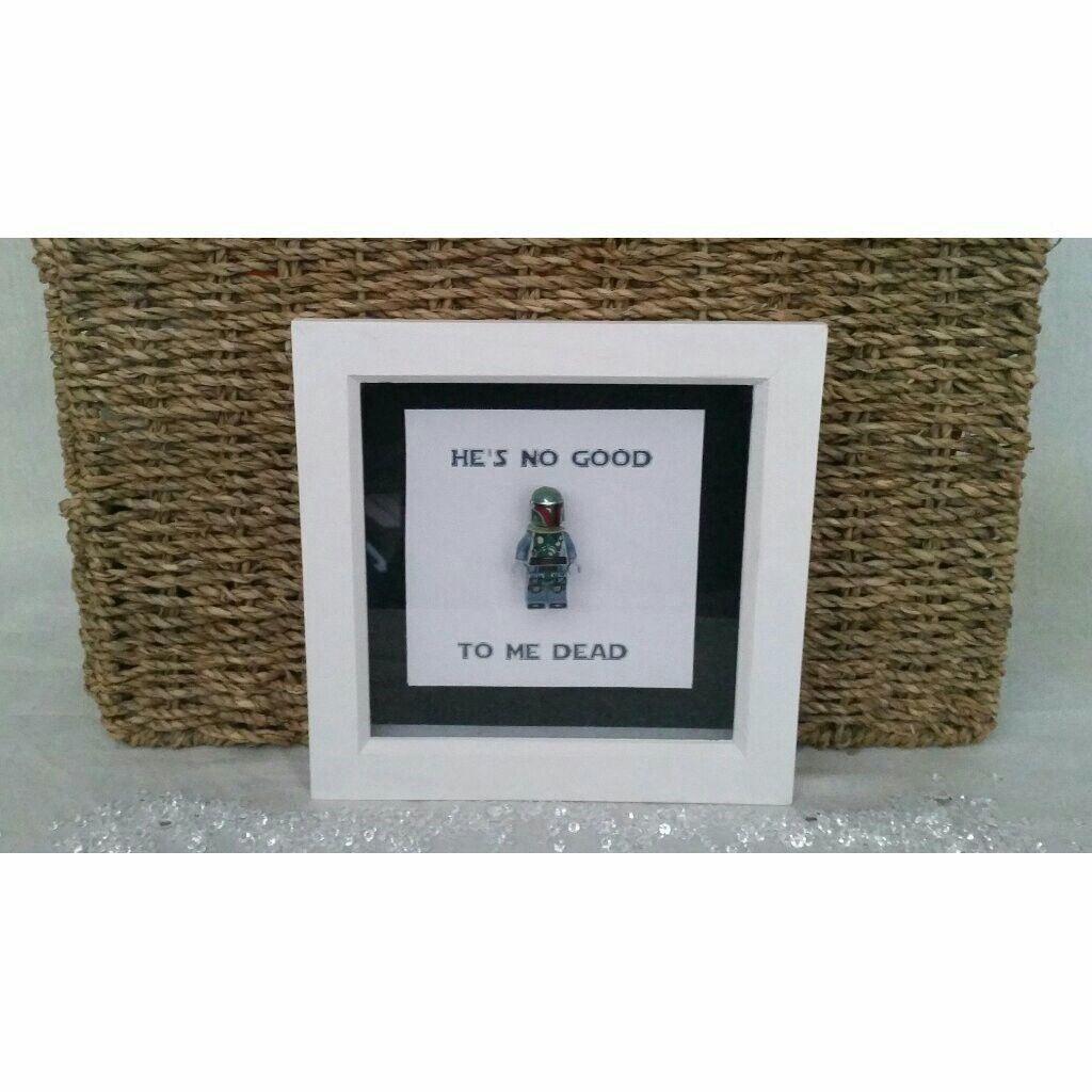 Lego style starwars frames staring price £10.00 to order just go to ...