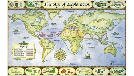 World map in the 1400s word map in 1570 land claims of early north world map in the 1400s word map in 1570 land claims of early north america youtube video showing the history of how north american land claimed by gumiabroncs Image collections