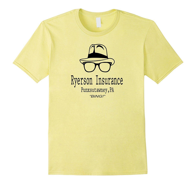 Groundhog Day Movie Quotes Amazonsmile Ryerson Insurance Groundhog Day Movie Quote Shirt