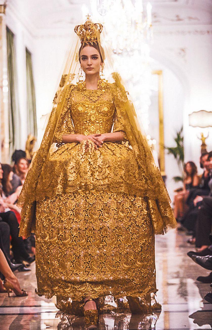 fuckyeahfashioncouture: Dolce and Gabbana Haute Couture ...