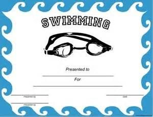 Free Swimming Certificates $0.00 | Kids | Pinterest