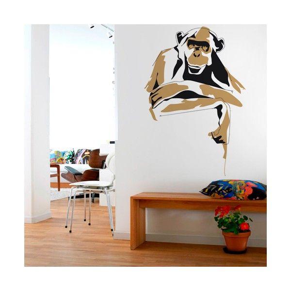 Mono, estilo lineal / Monkey, Linear style