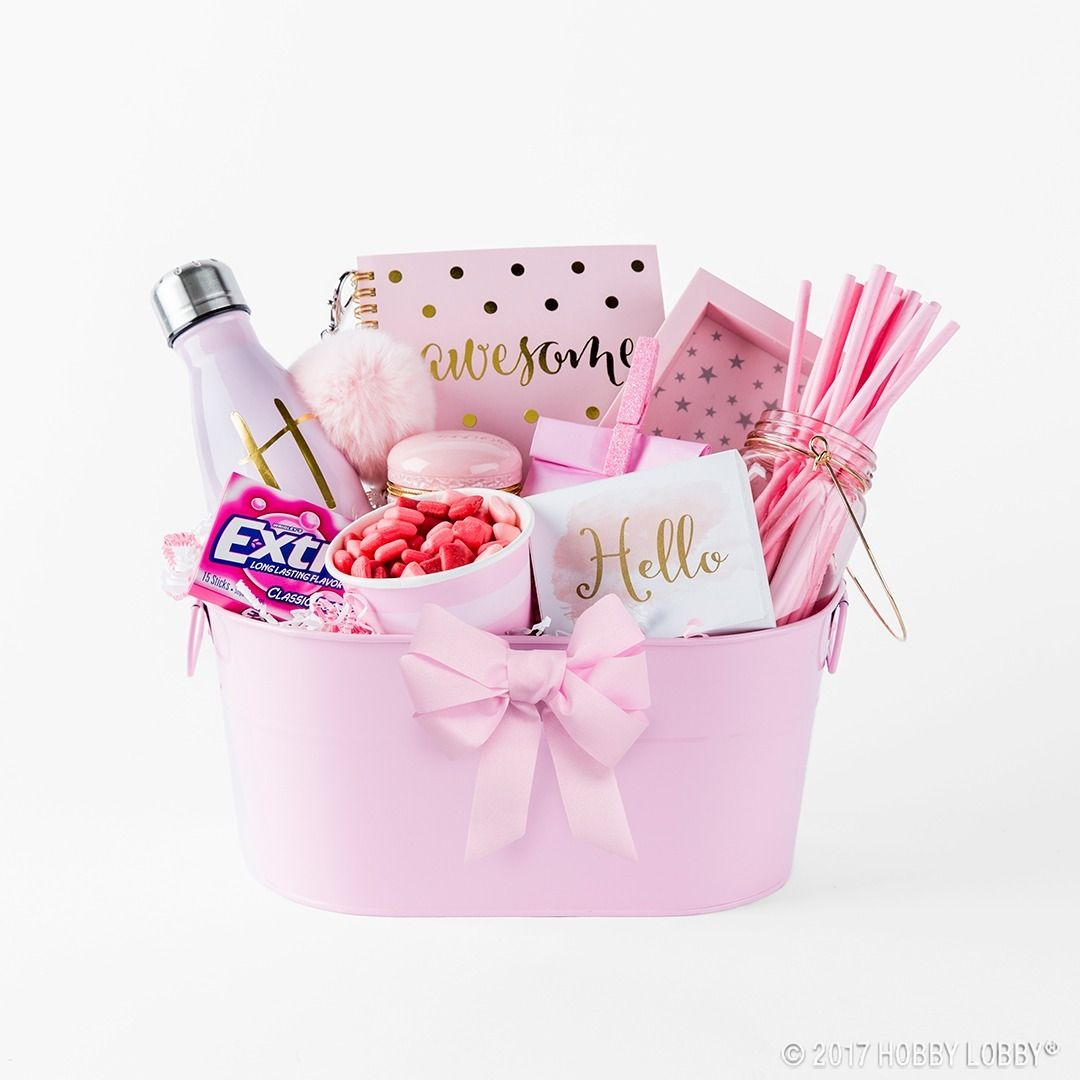 These color coordinated gift baskets are fun functional and perfect stationery office decor party baking hobby lobby negle Image collections