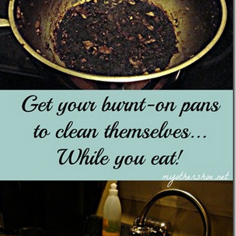 Clean your burnton stainless steel pans stainless
