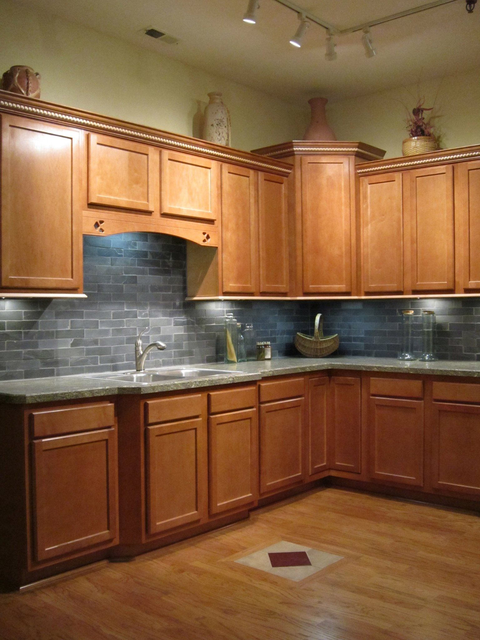A Bretwood Display Kitchen Colors Kitchen Cabinetry Maple Kitchen