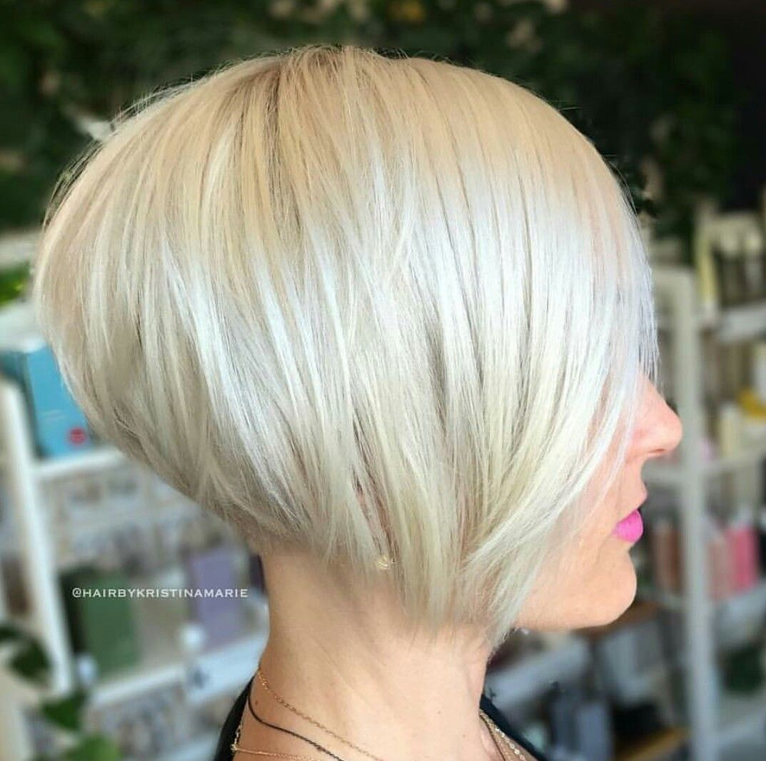 Best Hairstyle For Fine Hair 2012 Short Stacked Bob Haircuts Stacked Bob Haircut Thick Hair Styles