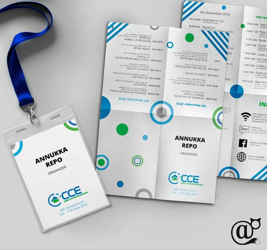 Council For Creative Education Visual Identity And IdCard